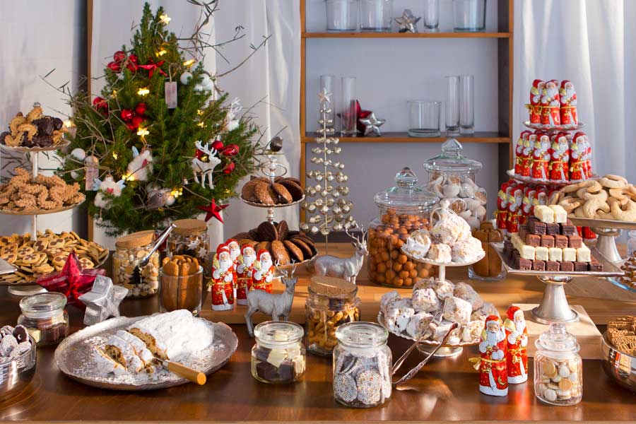 weihnachtliches candy buffet catalogna. Black Bedroom Furniture Sets. Home Design Ideas