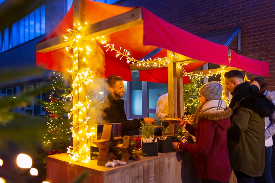 Weihnachtsmarkt Catering Catalogna