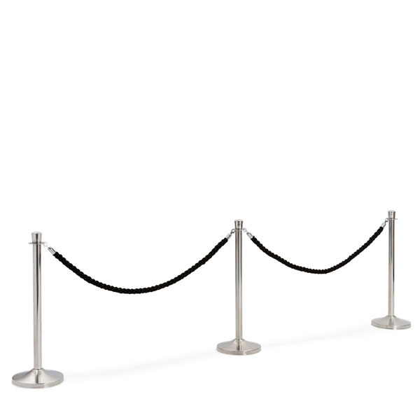 Chromed stanchions