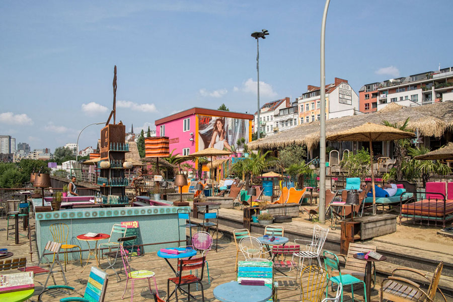 Strand Pauli Hamburg